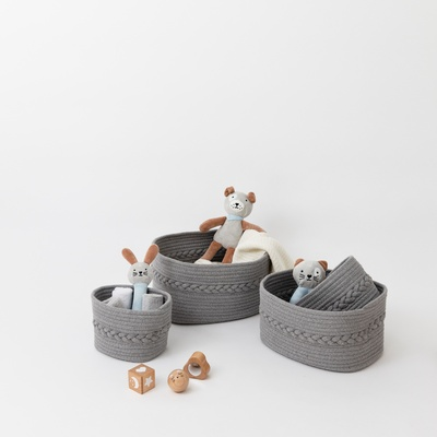 Nest Storage Pods - Grey