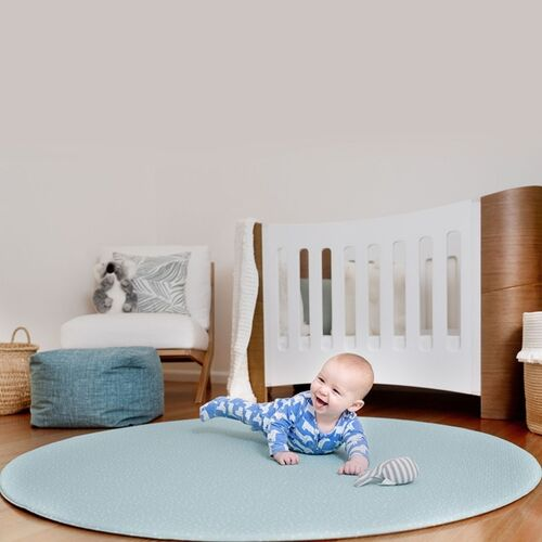 Speckled ROUND Luxe Play Mat